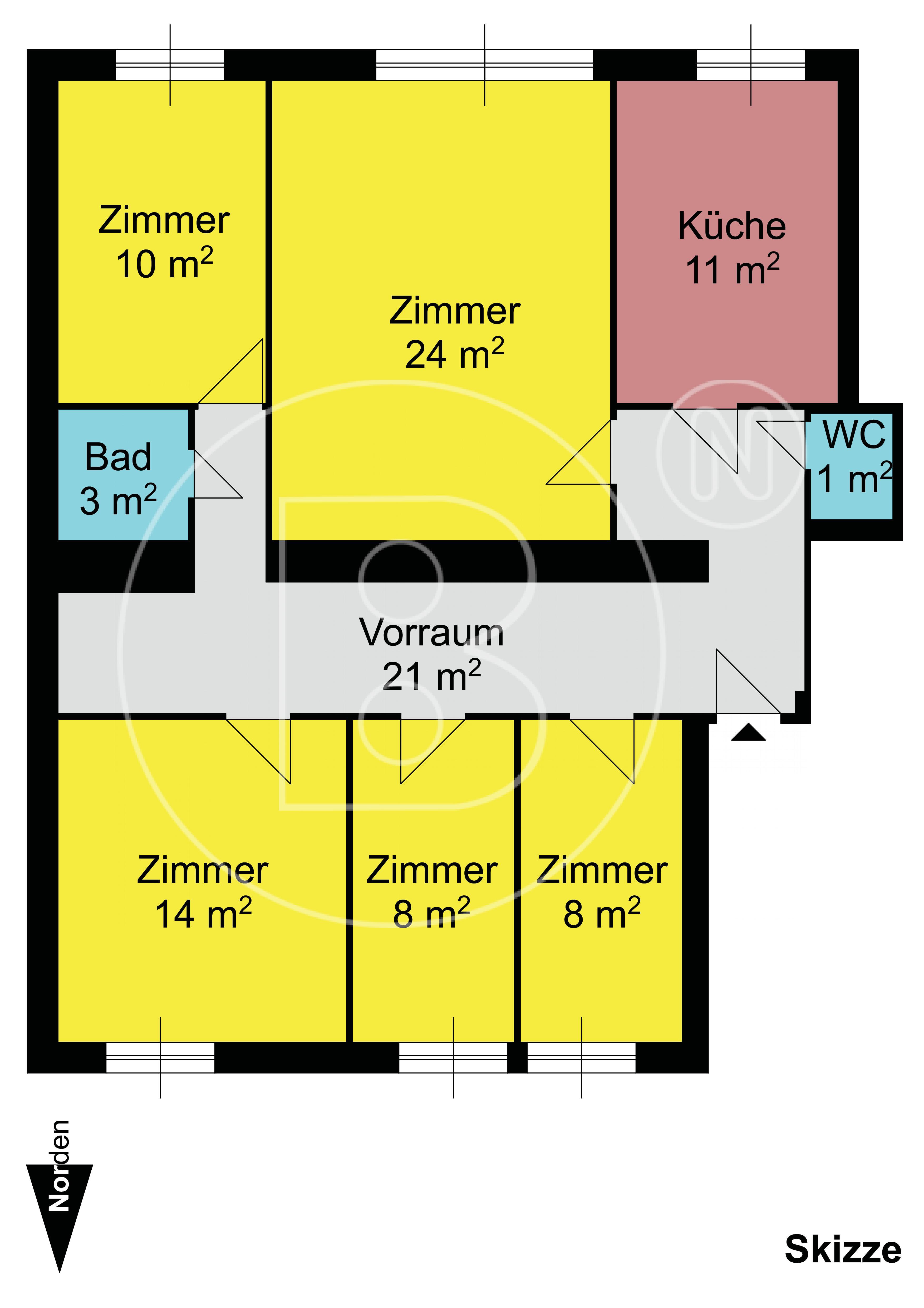 Zimmer Wohnung