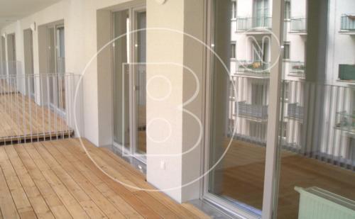 2-Zimmer-Neubauwohnung mit MEGA-Balkon
