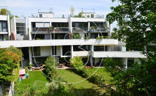Terrassen-Maisonette-Wohnung in perfekter Grünruhelage