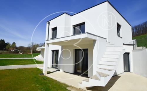 Belagsfertige Neubau-Doppelhaushälfte in Wiennähe!